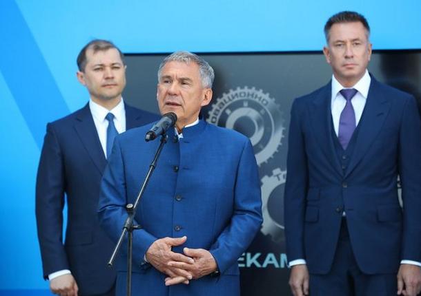 Новое производство 5-го поколения ДССК было открыто в «Нижнекамскнефтехиме»