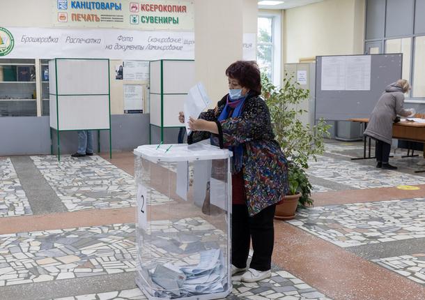 По итогам 3 дней голосования явка казанцев на избирательные участки составила 63%